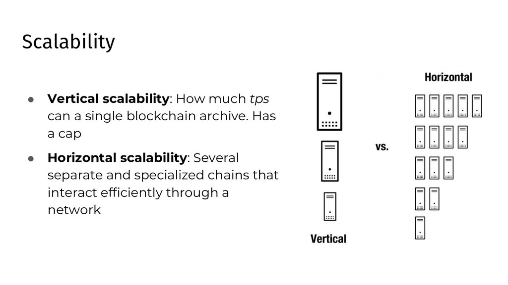 Scalability ● Vertical scalability: How much tp...