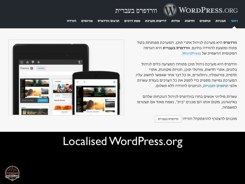 Localised WordPress.org