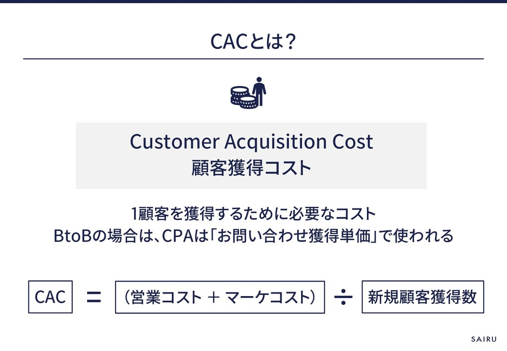 CAC 1 BtoB CPA CAC Customer Acquisition Cost