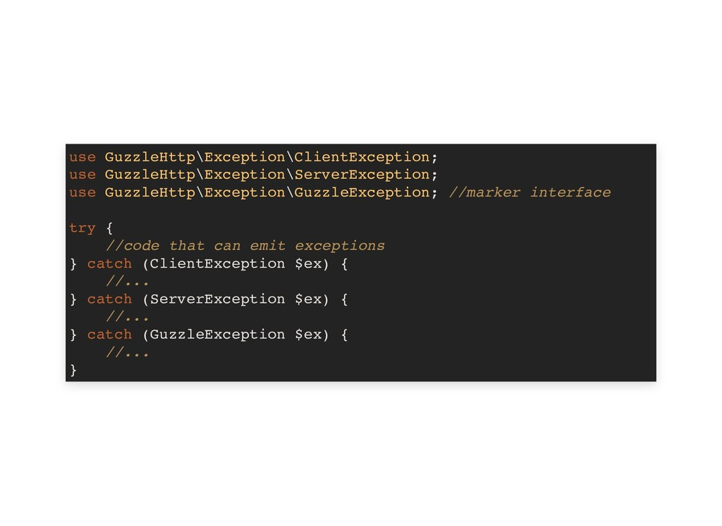 use GuzzleHttp\Exception\ClientException; use G...