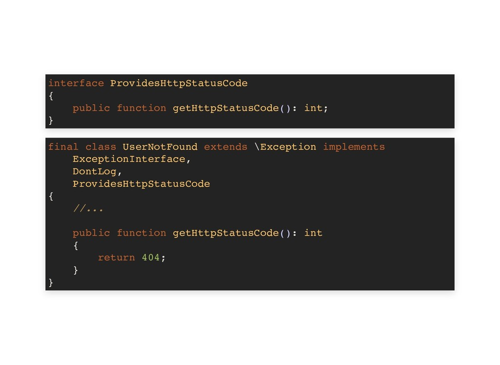 interface ProvidesHttpStatusCode { public funct...