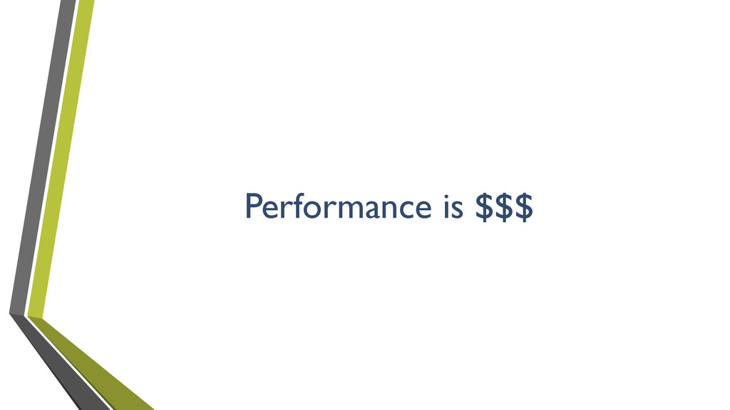 Performance is $$$