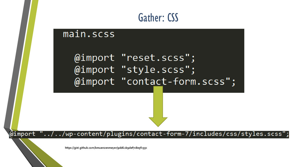Gather: CSS https://gist.github.com/bmuenzenmey...