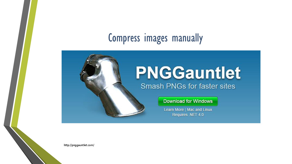 Compress images manually http://pnggauntlet.com/