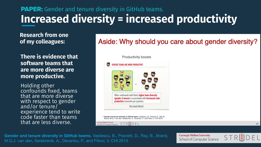Increased diversity = increased productivity PA...
