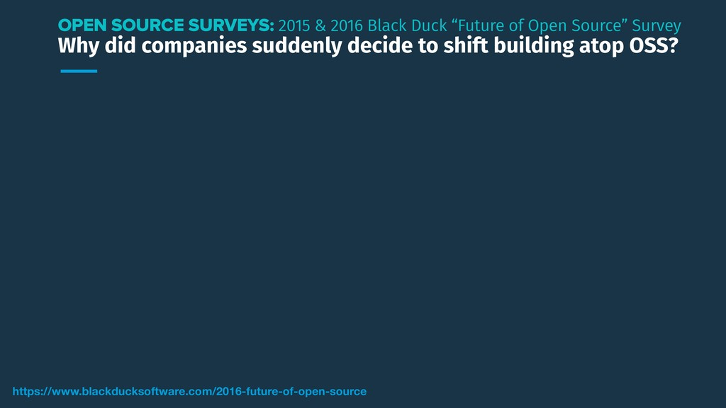 Why did companies suddenly decide to shift buil...