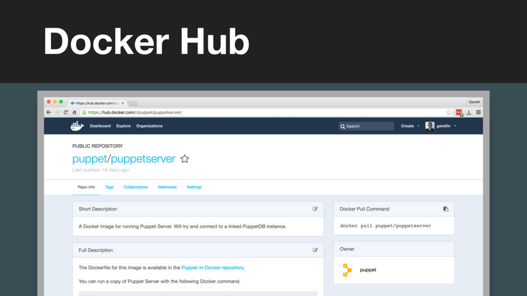 (without introducing more risk) Docker Hub