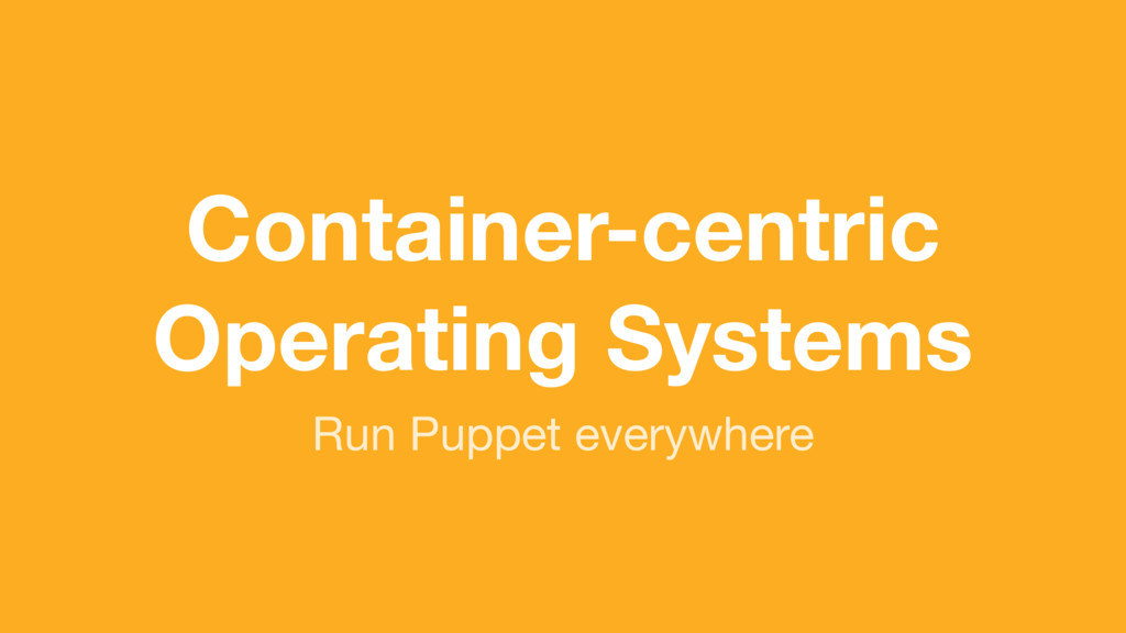 (without introducing more risk) Run Puppet ever...