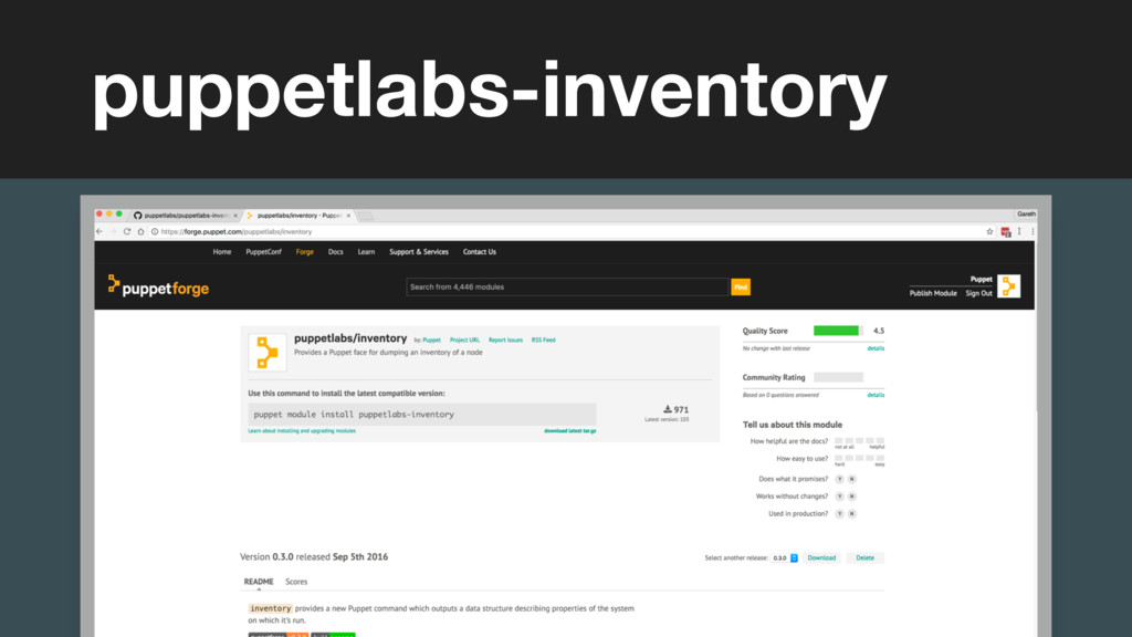 (without introducing more risk) puppetlabs-inve...