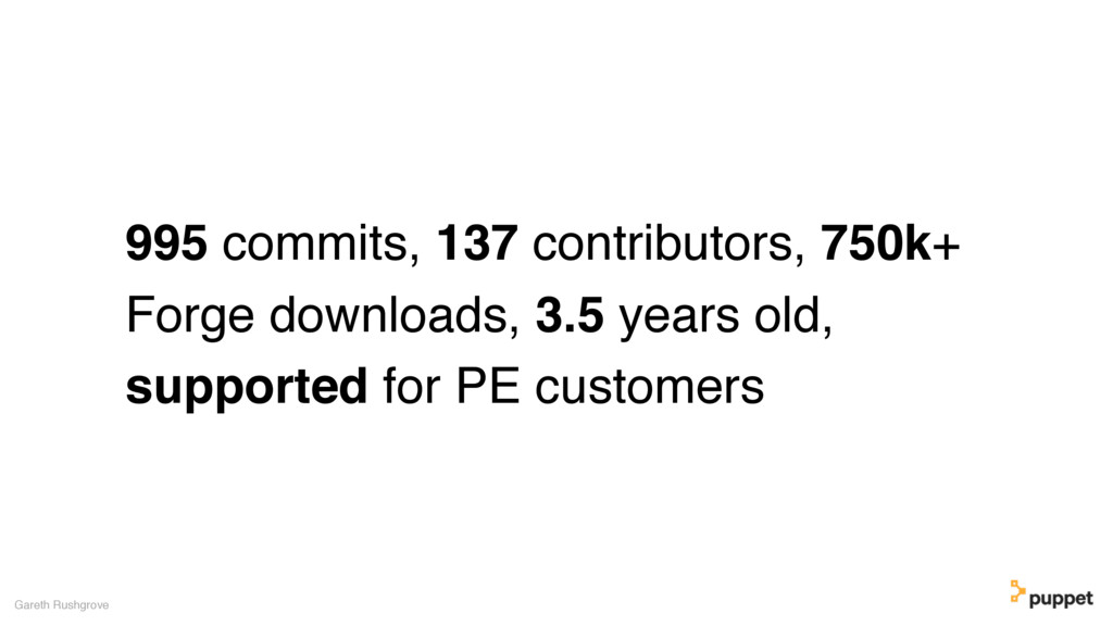 995 commits, 137 contributors, 750k+ Forge down...