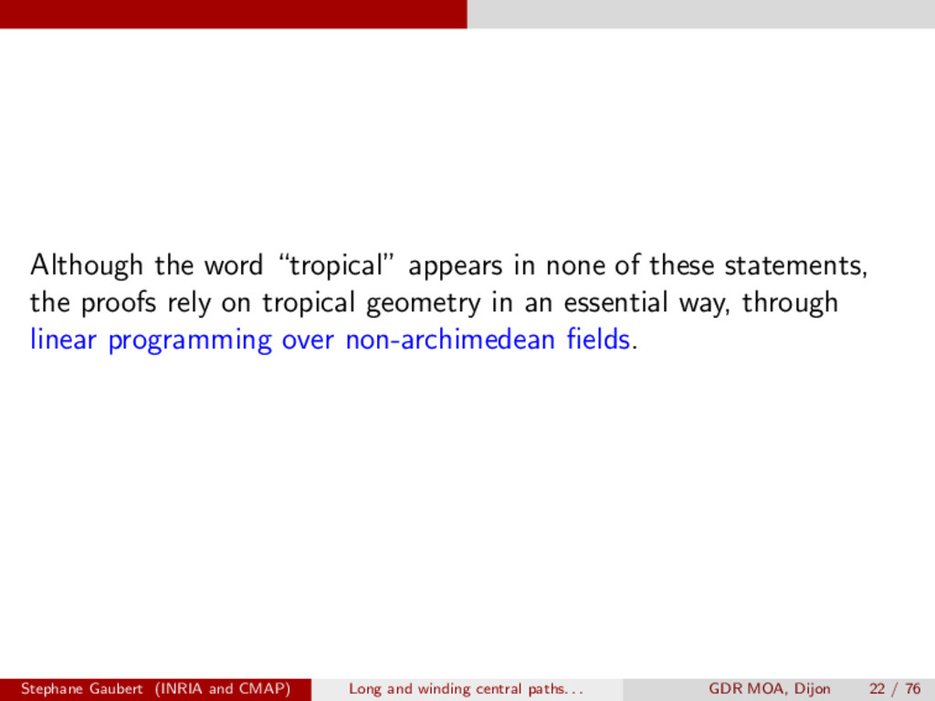 """Although the word """"tropical"""" appears in none of..."""