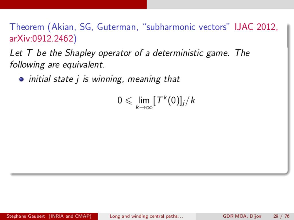 "Theorem (Akian, SG, Guterman, ""subharmonic vect..."