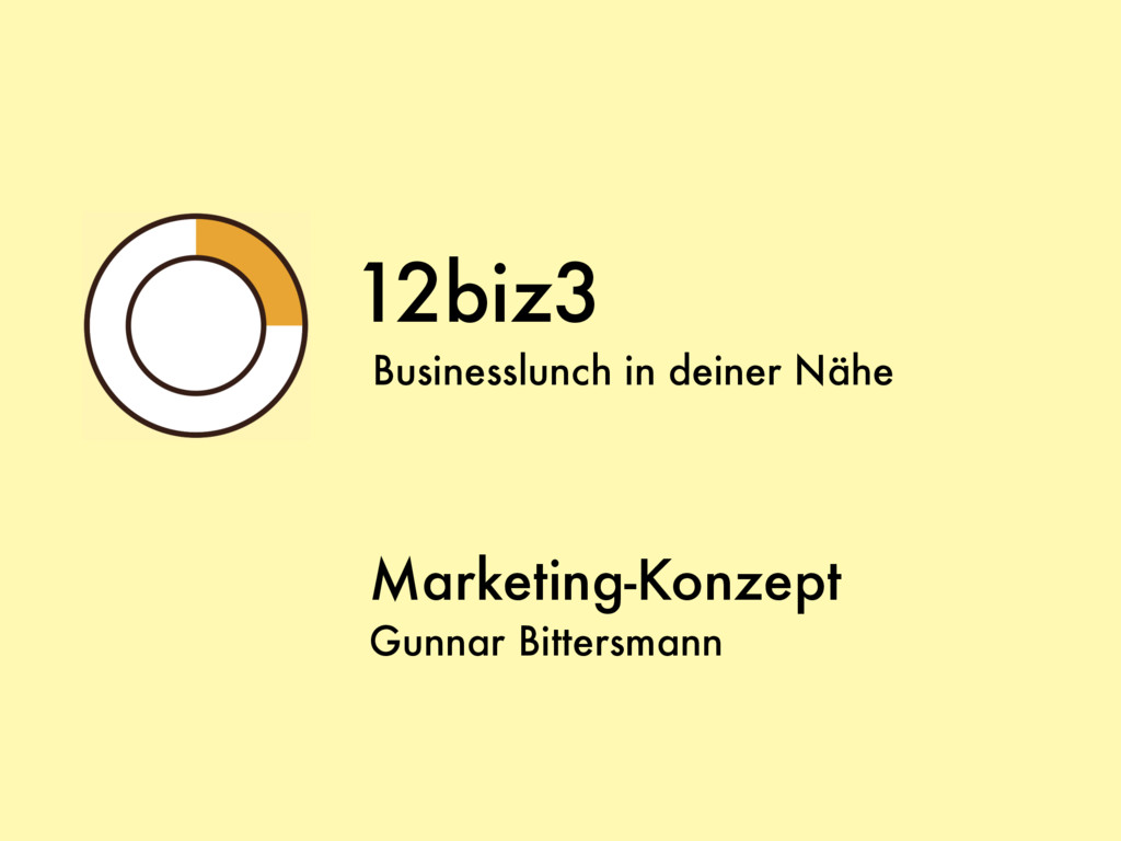 12biz3 Businesslunch in deiner Nähe Marketing-K...