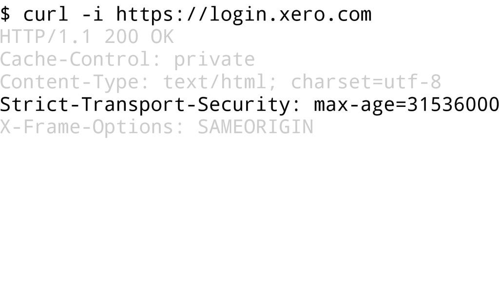 $ curl -i https://login.xero.com HTTP/1.1 200 O...