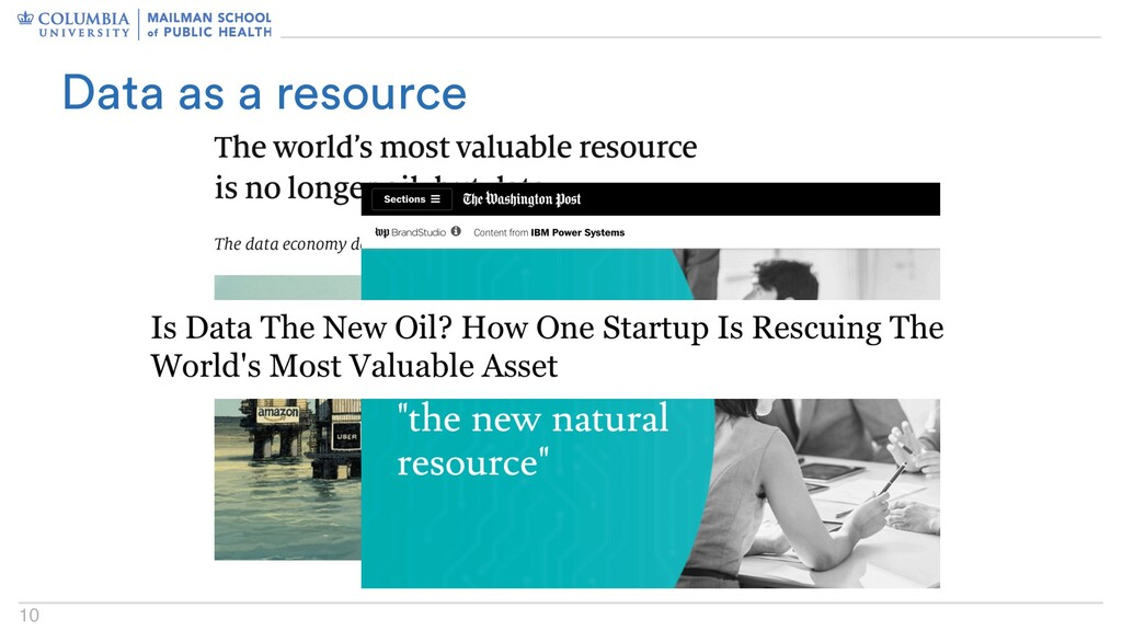 10 Data as a resource