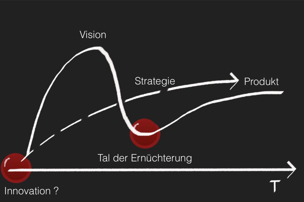 Innovation ? Tal der Ernüchterung Strategie Pro...