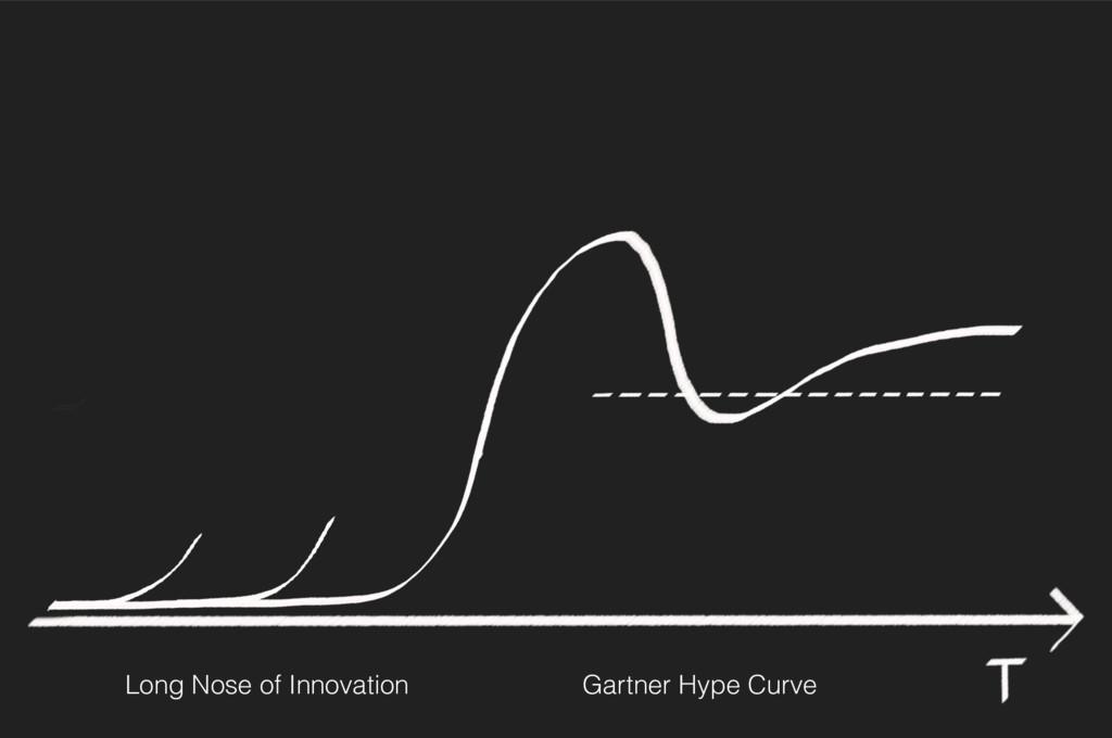 Long Nose of Innovation Gartner Hype Curve