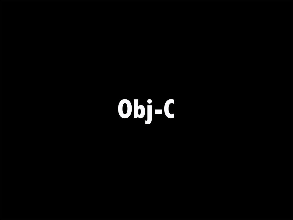 Obj-C