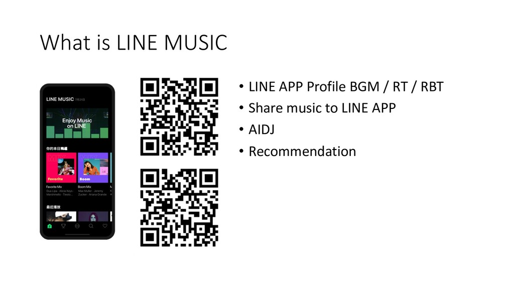 What is LINE MUSIC • LINE APP Profile BGM / RT ...