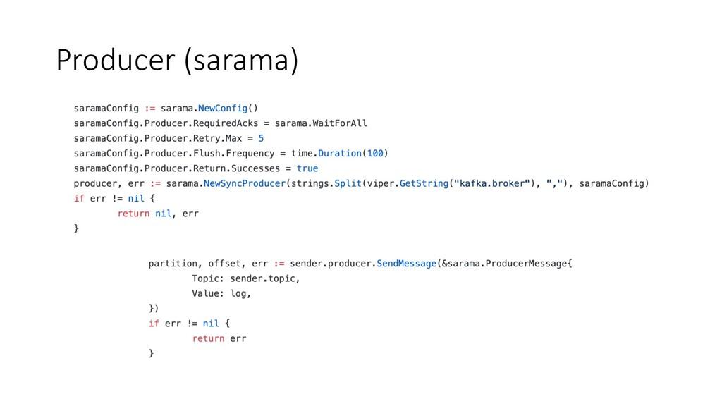 Producer (sarama)