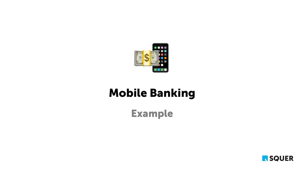 Mobile Banking Example 📱 💵