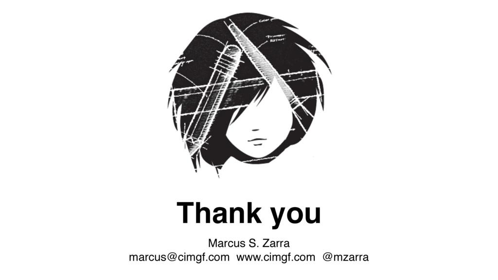 Thank you Marcus S. Zarra marcus@cimgf.com www...