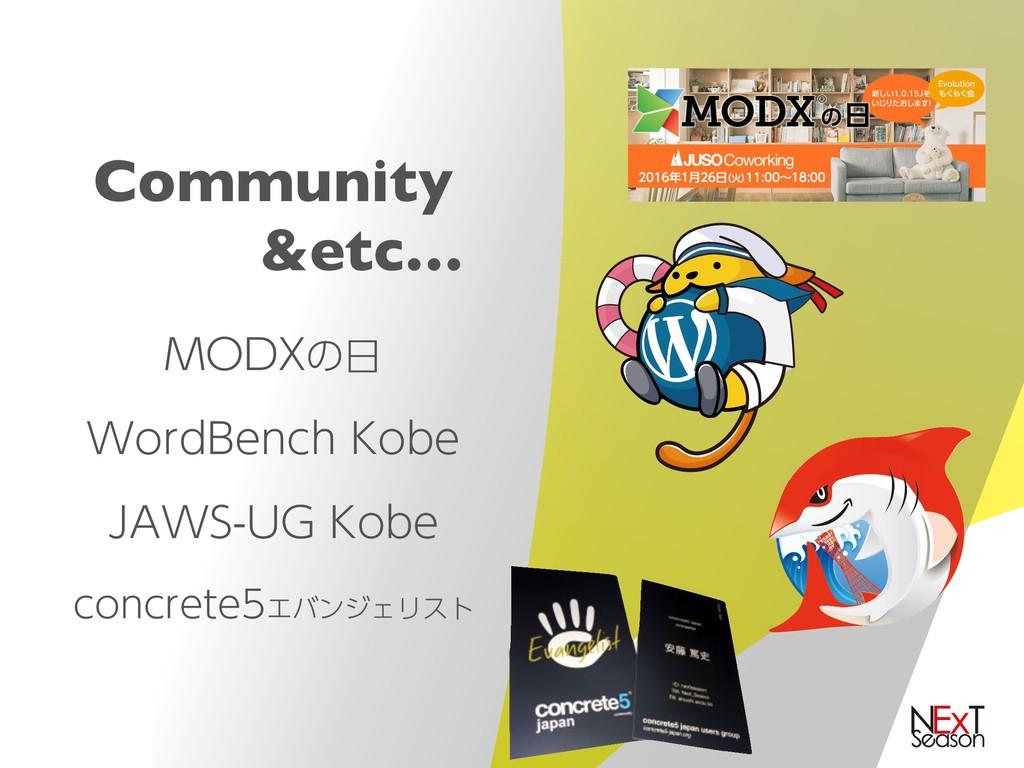 "Community &etc… .0%9ͷ 8PSE#FODI,PCF +""84..."