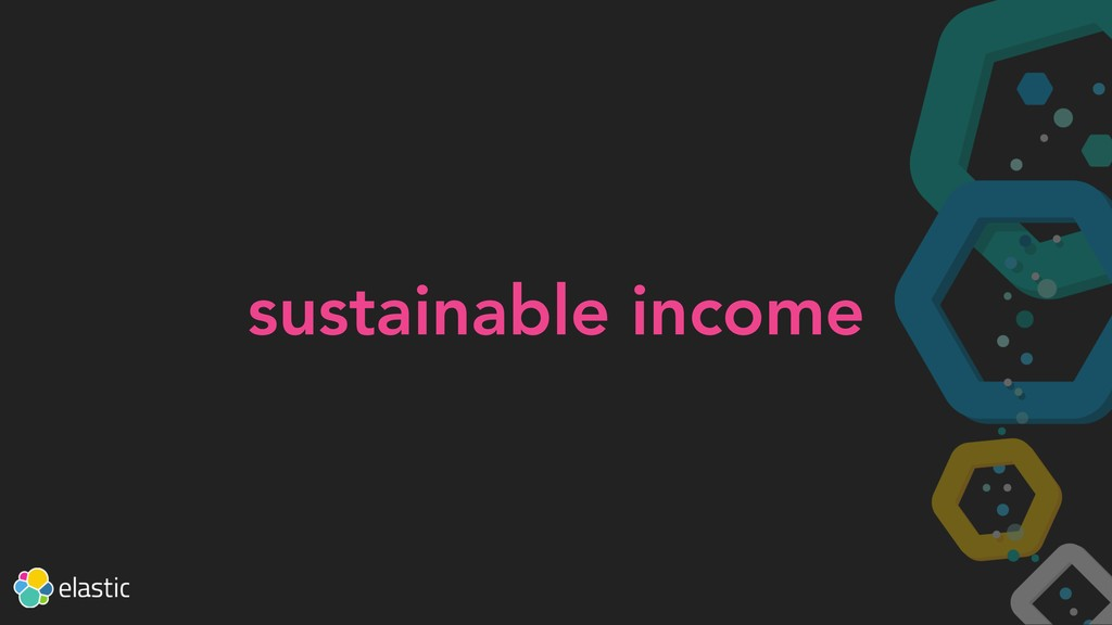sustainable income