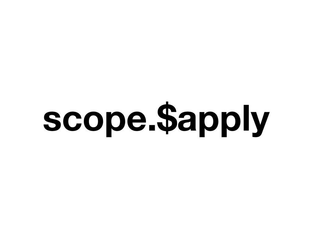 scope.$apply