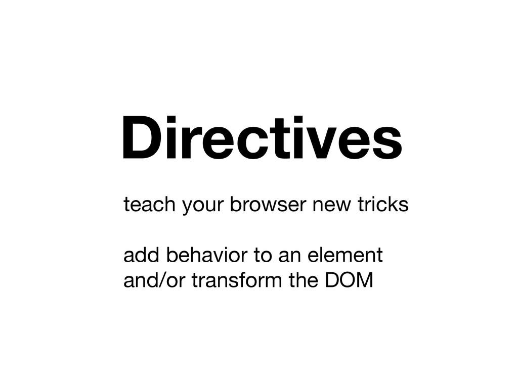 teach your browser new tricks  ! add behavior t...
