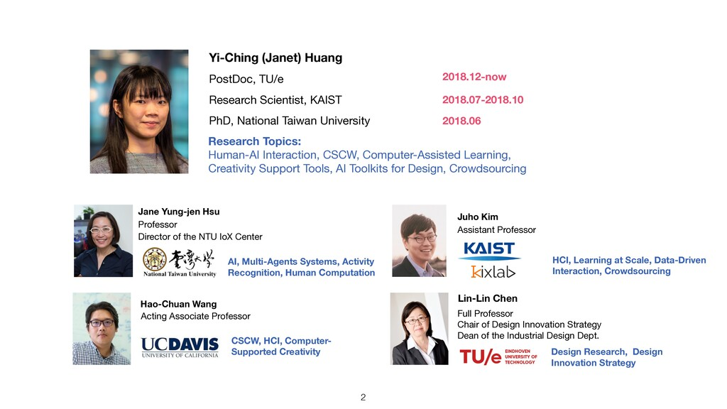 PhD, National Taiwan University Research Scient...