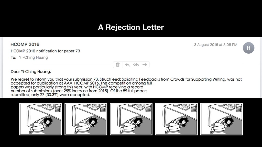 A Rejection Letter 8