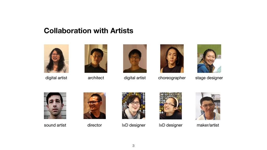 Collaboration with Artists 3 choreographer digi...