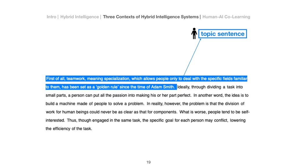 topic sentence 19 Intro   Hybrid Intelligence  ...