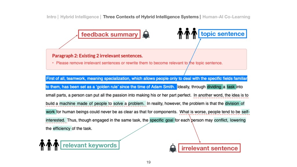 topic sentence relevant keywords irrelevant sen...