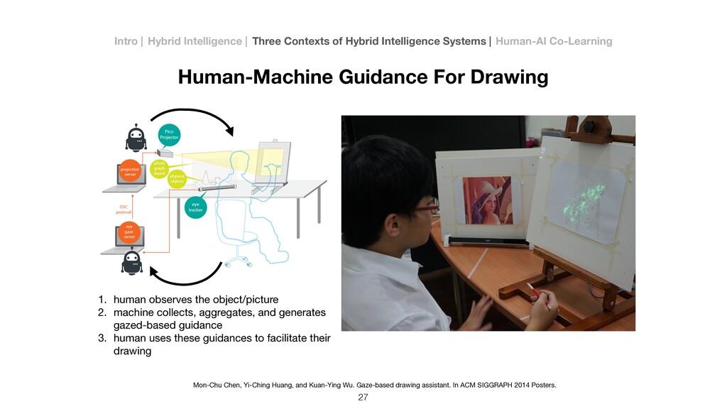 Human-Machine Guidance For Drawing 27 1. human ...