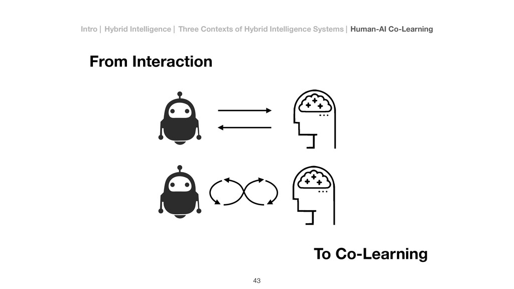 To Co-Learning From Interaction 43 v v Intro   ...