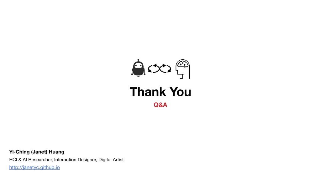 Thank You Q&A HCI & AI Researcher, Interaction ...