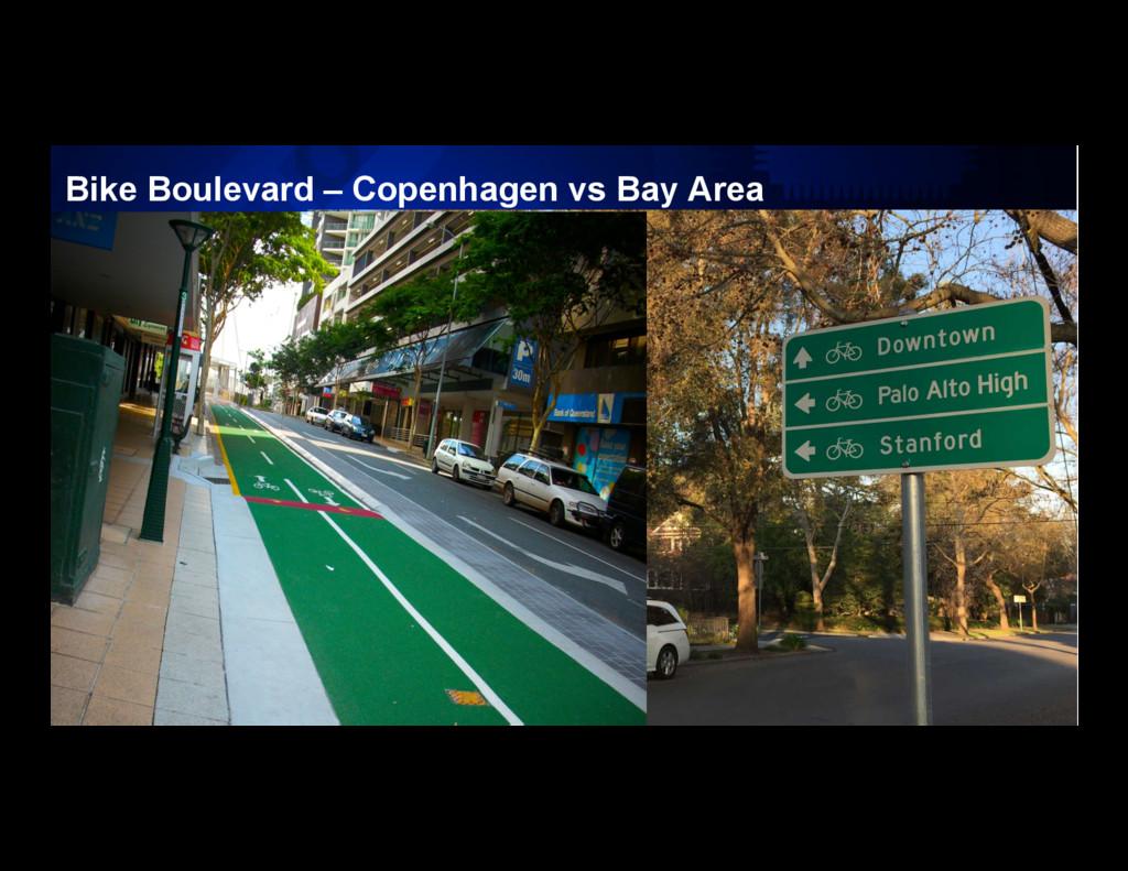 10 Bike Boulevard – Copenhagen vs Bay Area