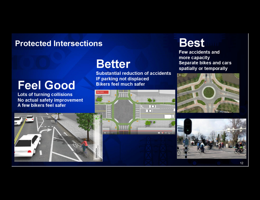 12 Protected Intersections Feel Good Lots of tu...