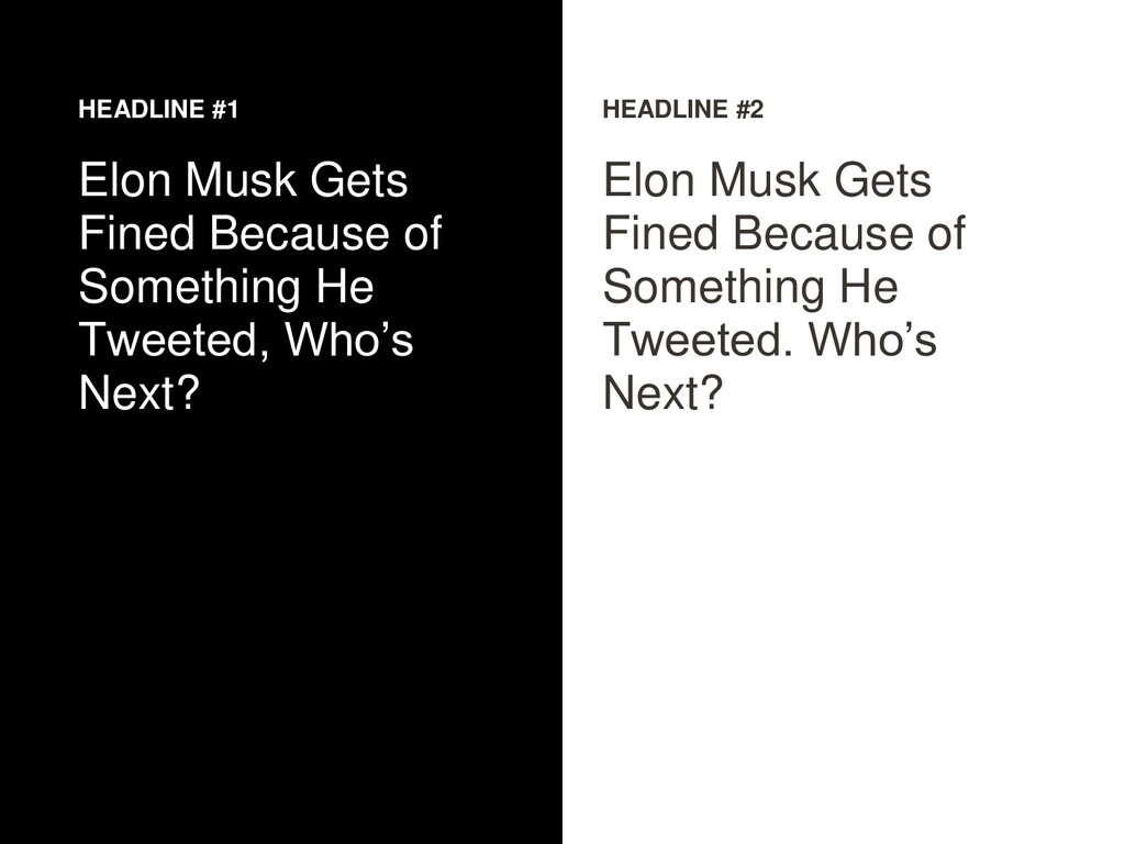 HEADLINE #1 Elon Musk Gets Fined Because of Som...