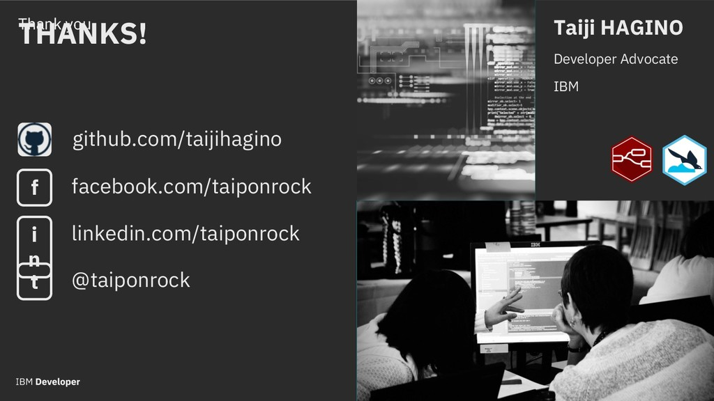 Thank you github.com/taijihagino Taiji HAGINO D...
