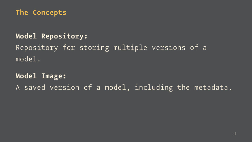 The Concepts Model Repository: Repository for s...