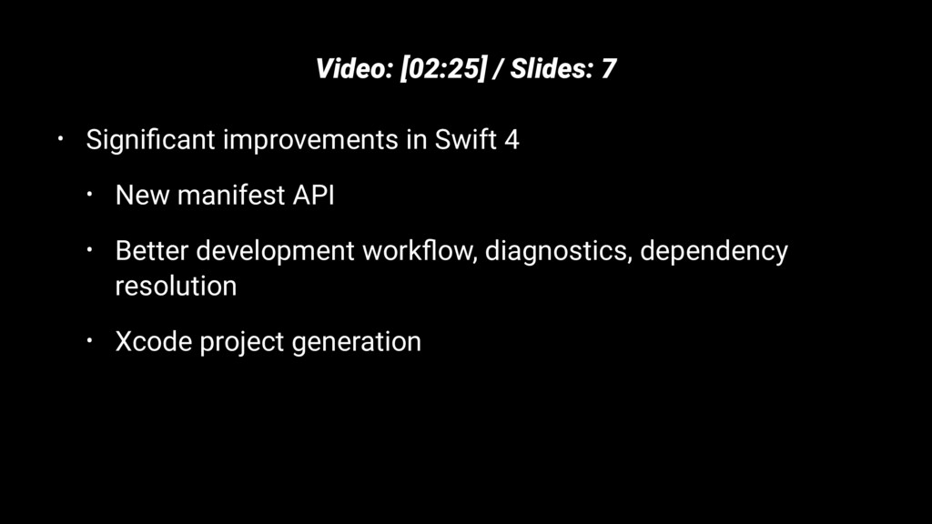 Video: [02:25] / Slides: 7 • Significant improve...