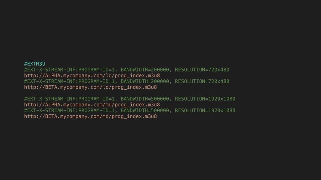 #EXTM3U #EXT-X-STREAM-INF:PROGRAM-ID=1, BANDWID...
