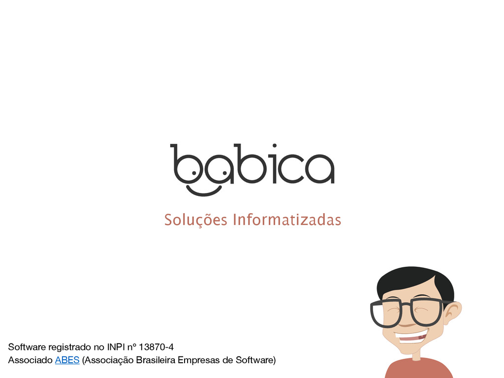 Soluções Informatizadas Software registrado no ...