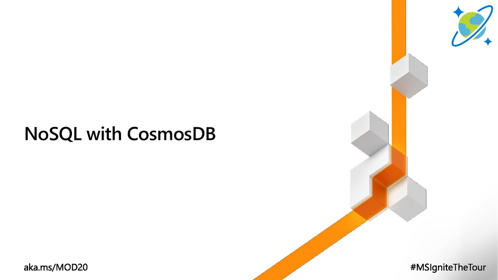 NoSQL with CosmosDB