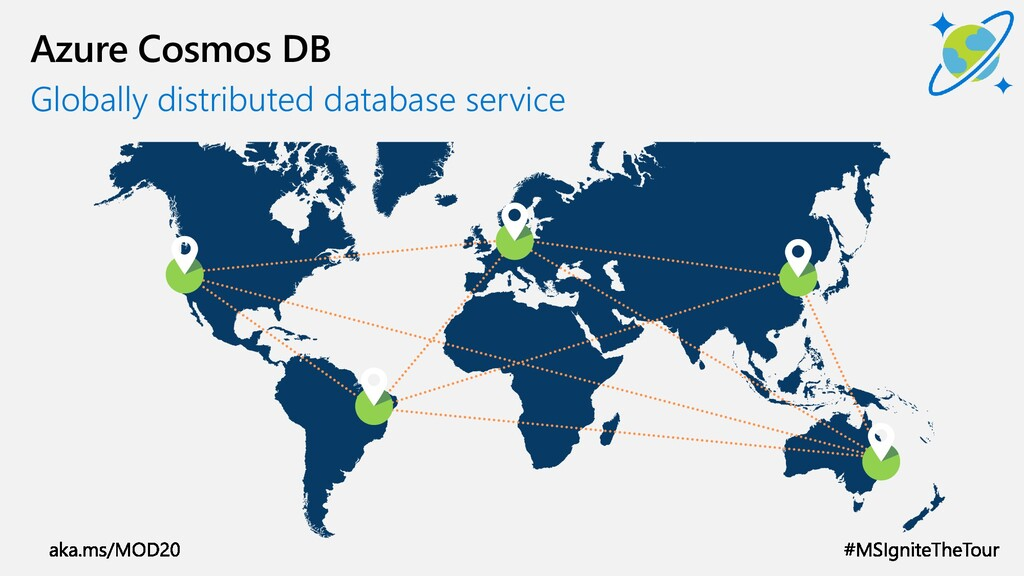 Azure Cosmos DB Globally distributed database s...