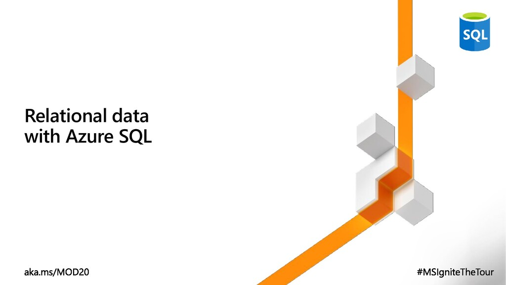 Relational data with Azure SQL