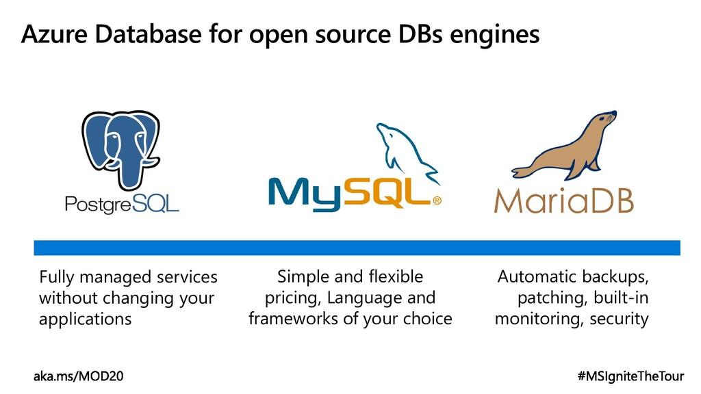 Azure Database for open source DBs engines Simp...